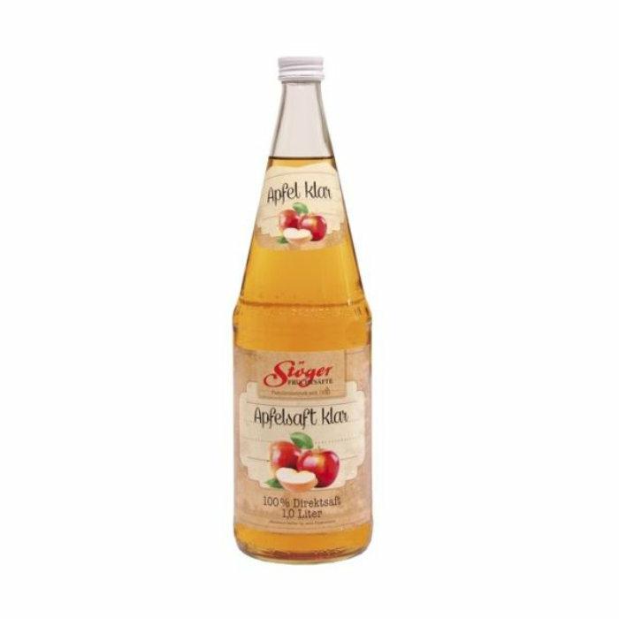 Stöger 100% Apfel-Direktsaft klar 1,0 Liter