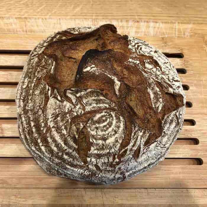 Brauerkruste aus der Camba-Bäckerei