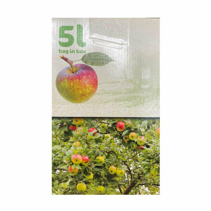 Bio Apfelsaft 5,0 Liter aus der Region