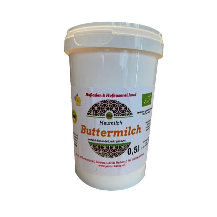 Bio Heumilch Natur Buttermilch 500 ml