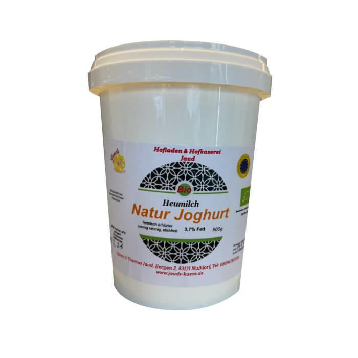Bio Heumilch Natur Joghurt 500 ml